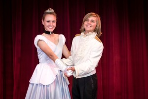 """Mary Taylor is Cinderella and Ryan Dugdale is Prince Charming (listen, fella, don't let it go to your head) in the Junior Choir of Manhattan Beach Community Church production of """"Cinderella."""" Performances Friday through Sunday. (310) 819-5066 or email spungirl2@hotmail.com"""