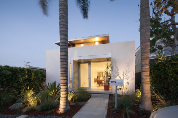 The remodeled Grandview home was originally a Spanish Colonial design.