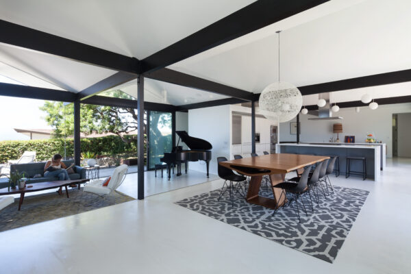 The remodeled Henbest home retains its mid-century feel. Photo by Chang Kyun Kim