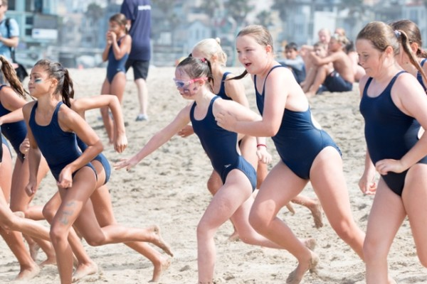 Manhattan Beach kid with Down Syndrome holds own in ...