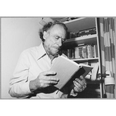 A man of letters. Charles Bukowski, photo by Eckart Palutke.