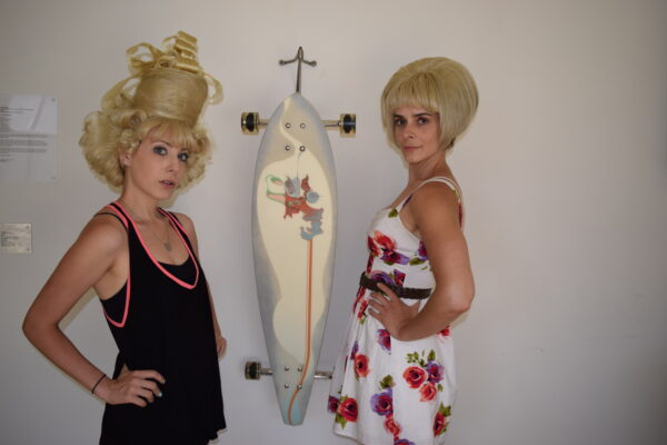 Wigged-out: So what do you think of them now? Photo
