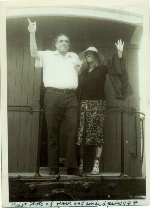 Hank and Linda Bukowski. Photo by by Ayan Cavallero.