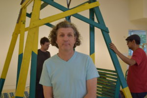 Max Presneill of the Torrance Art Museum. Photo