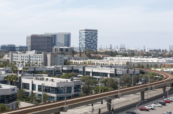 A billion dollars in development is underway, or recently completed, in El Segundo. Photo by Brad Jacobson