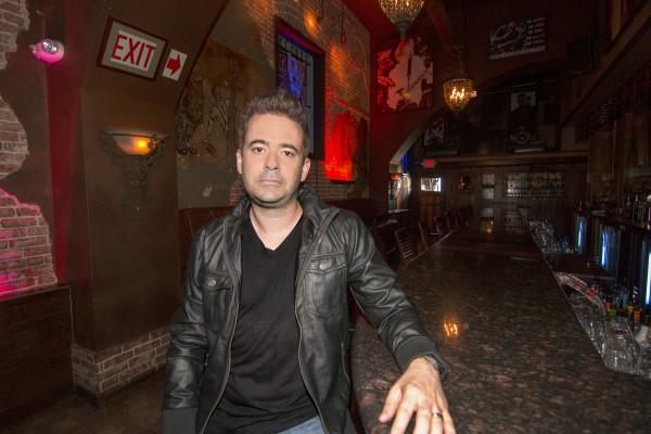 Adam Spriggs at Saint Rocke. Photo by Brad Jacobson