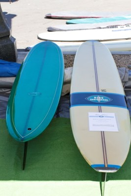 Some Of The Vintage Foam On Display As A Part Longboard Collectors Club