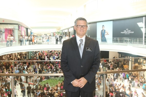 Simon Development vice president David Contis at the grand opening of the new Nordstrom. Photo by Kevin Cody