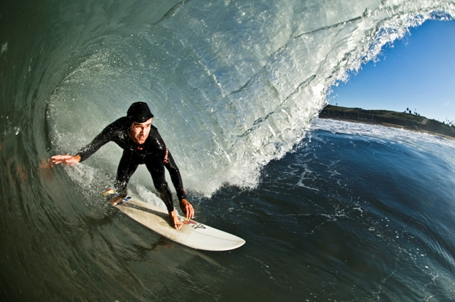 Local Surfer John Balk fights brain Cancer: surf community gets behind family with a fundraiser