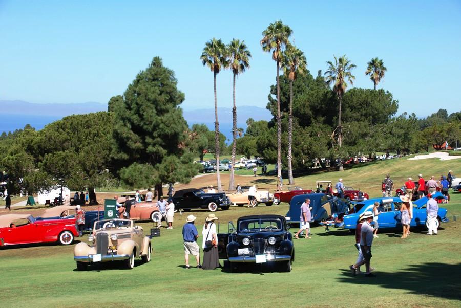 Beach Cars Climb Hill To Palos Verdes Concours DElegance - Palos verdes car show