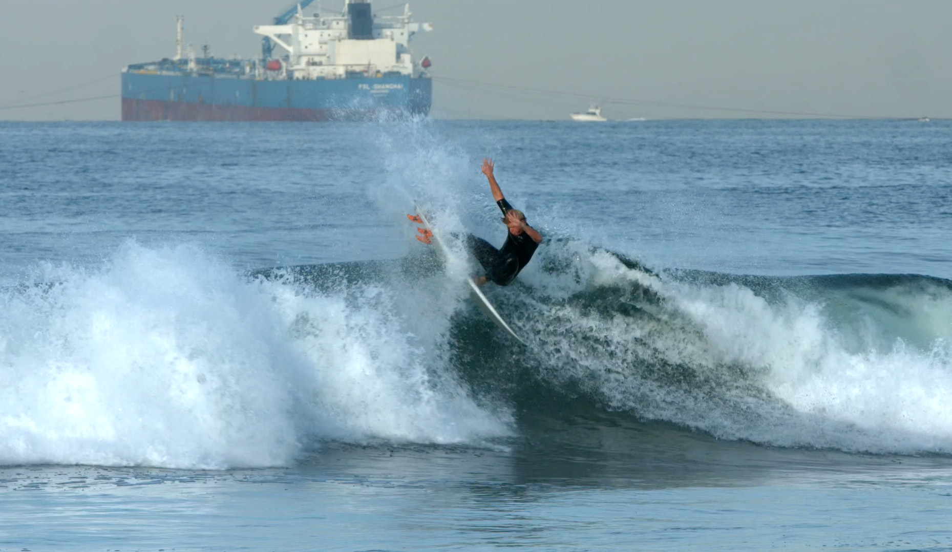 High Octane Surf Action From El Porto