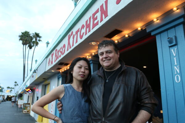 Jessica Lo Ibarra and Chef Bernard Ibarra at their restaurant, A Basq Kitchen, which will reopen Thursday after a regulatory miscue caused a temporary closure. Photo by Mark McDermott