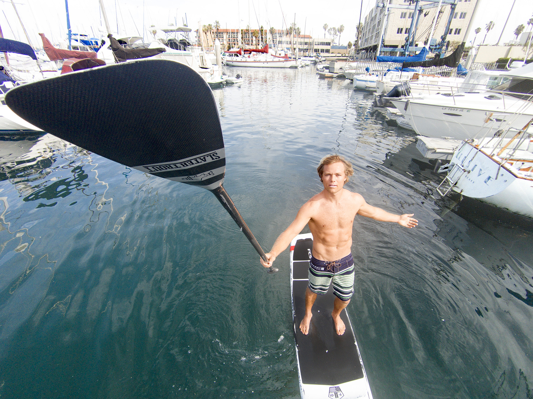 Paddling Through Life With Slater Trout