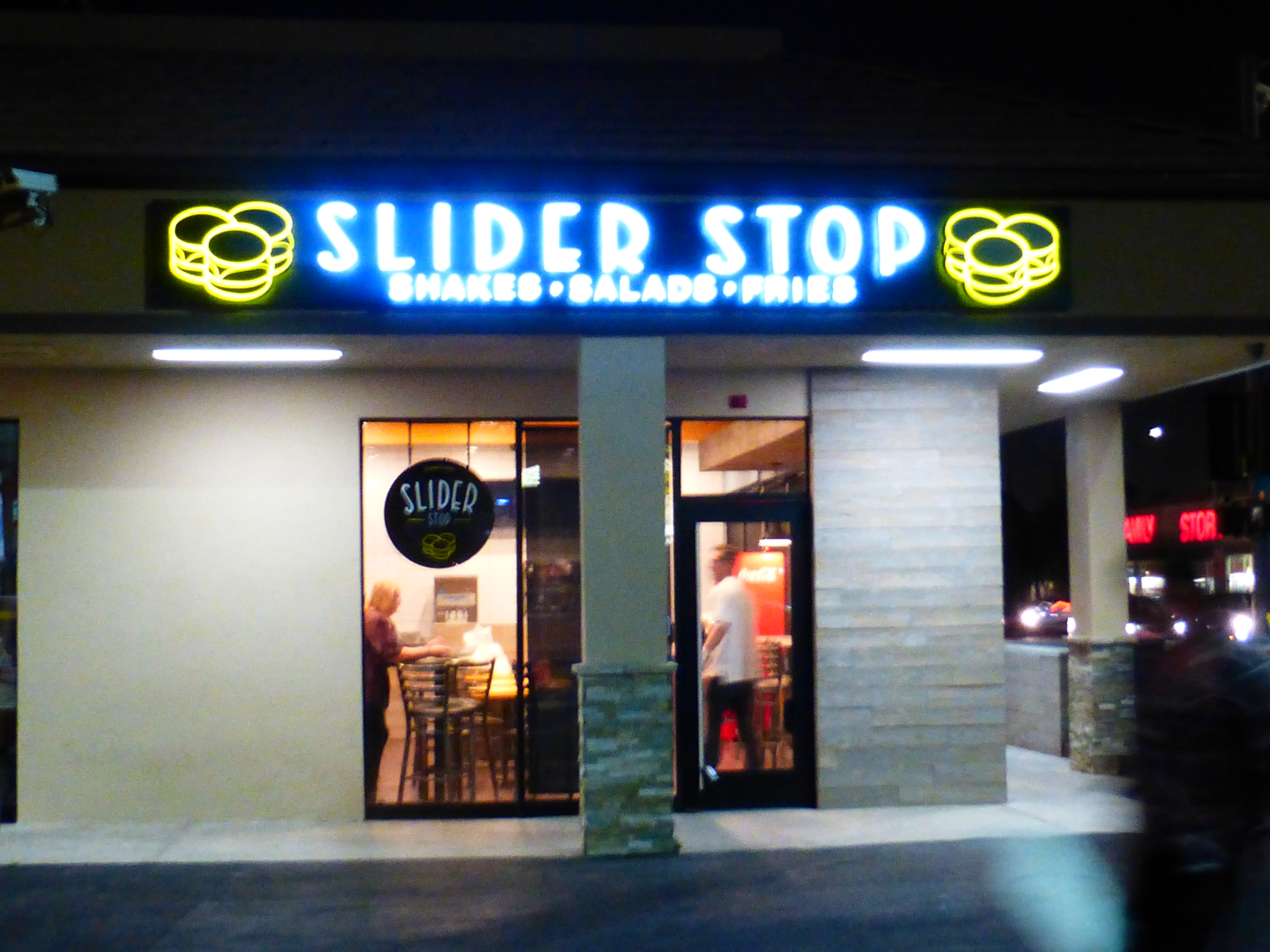 Slider Stop, a new restaurant soon on Artesia Boulevard in Redondo Beach, brings chef-driven creativity to sliders. The restaurant is the project of South Bay natives Ryan, Jason, and Brandon Rezaie. Photo by Richard Foss
