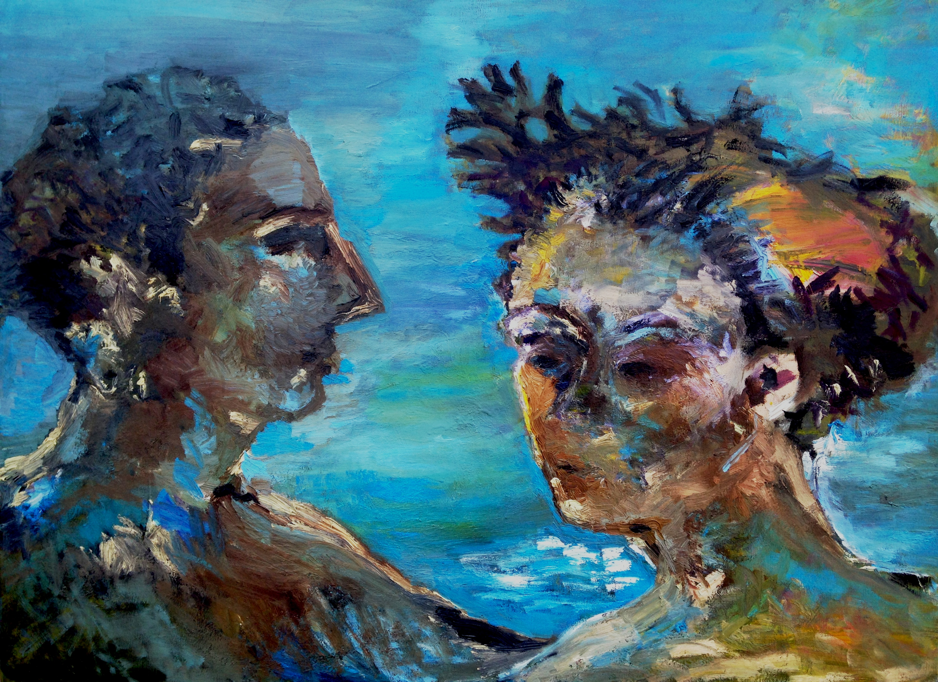 """""""Two more in the Bonding Sea,"""" by Scott Trimble"""
