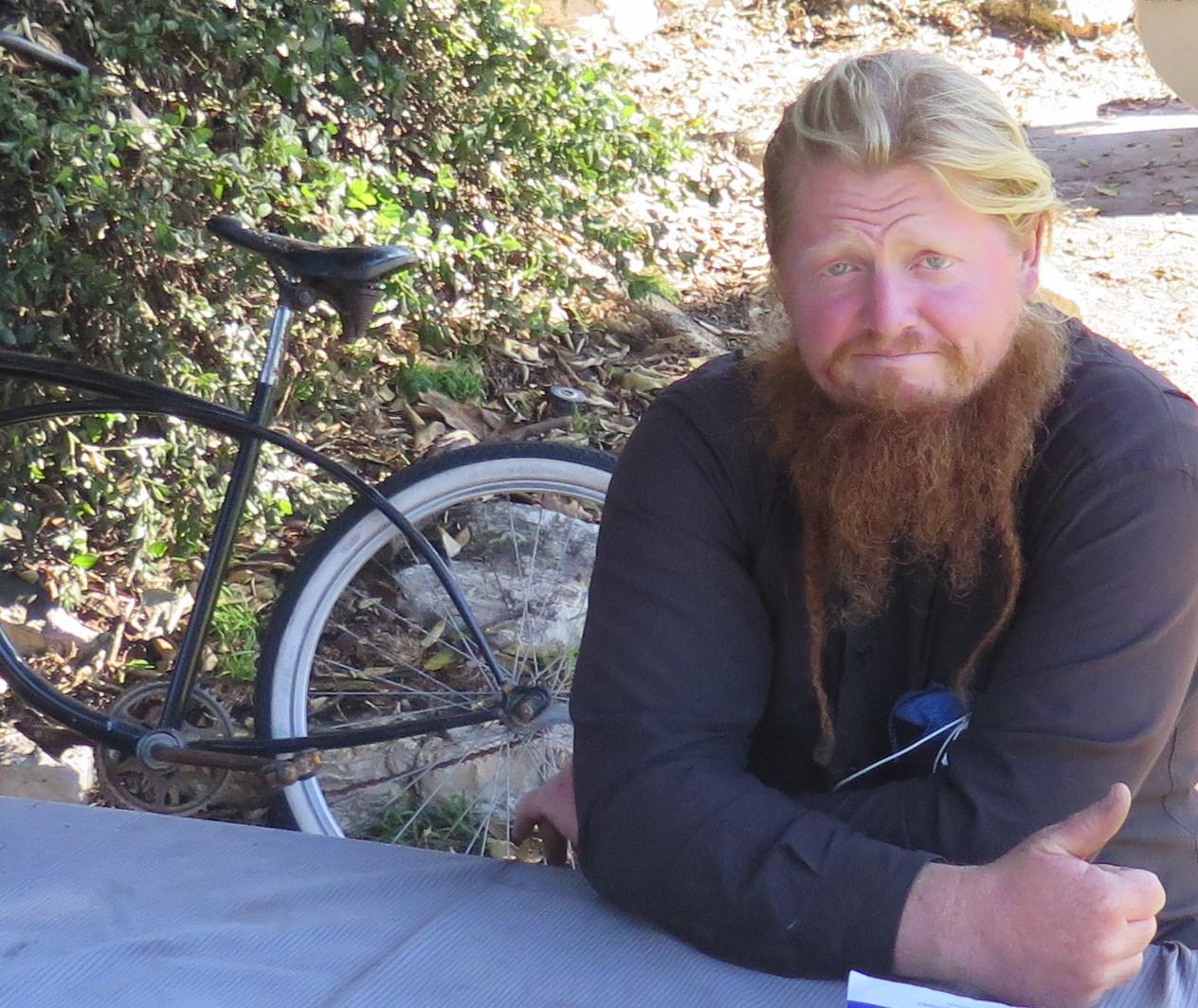Gregory Thomas at Valley Park. Photo
