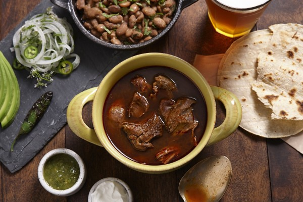 Beef and goat birria at Sausal.