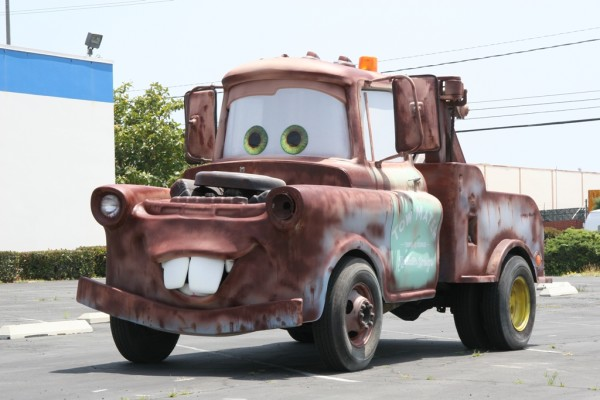 "Eddie Paul built ""Tow Mater"" from the Disney animation film ""Cars"" to travel to car shows. Photo courtesy of Eddie Paul Industries"