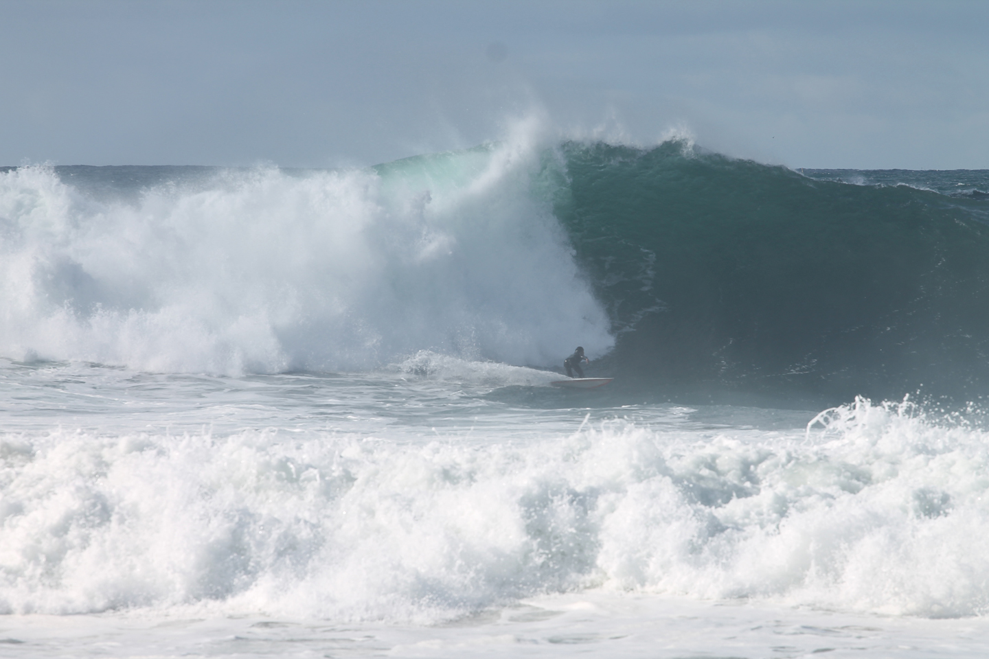 El Niño Swell No. 1 hits South Bay beaches