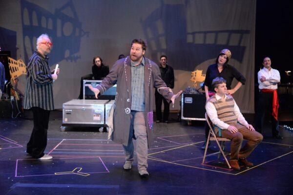 Robin Buck, Zeffin Quinn Hollis, Suzan Hanson, Todd Strange, and Roberto Perlas Gomez. Photo by Keith Ian Polakoff.