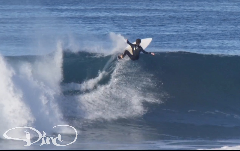 Barreled in Hermosa Beach. Video by John DeTemple