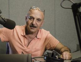 Curator and radio host Edward Goldman