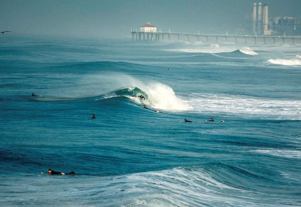 Hermosa Beach, Thursday, January 14 by Ryan Banas