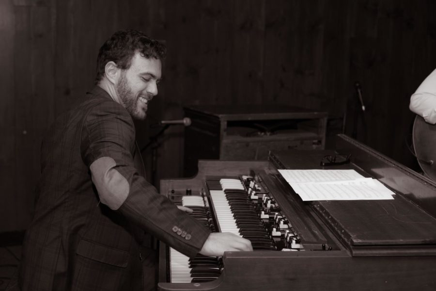 Strangers on a Saturday Night, featuring organist Carey Frank, is scheduled to play in June at the Torrance Art Museum. Photo courtesy of the band.