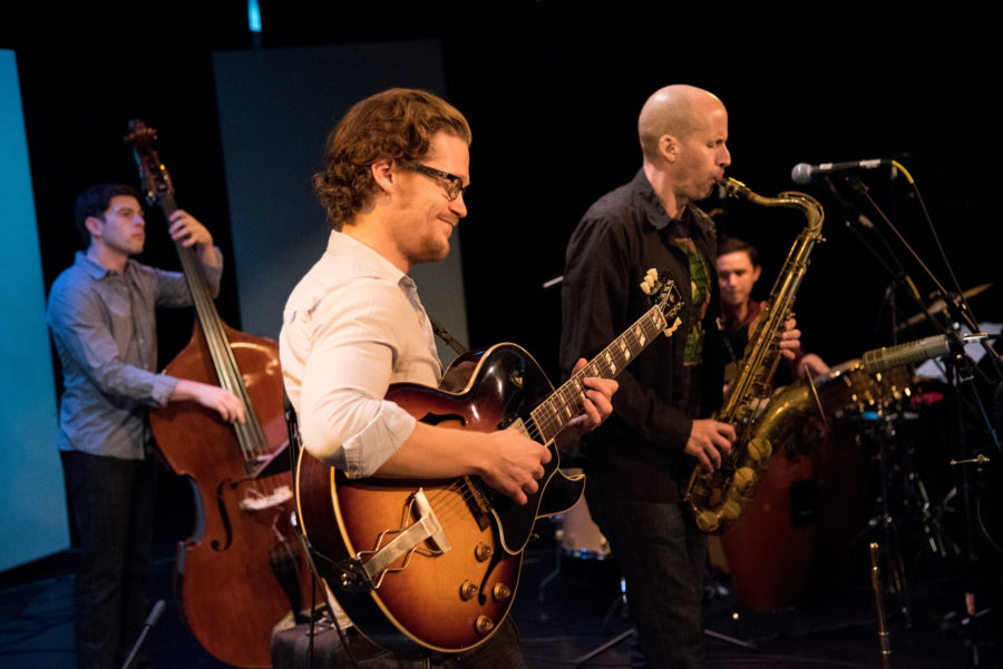 """Jazz guitarist Will Brahm and his trio perform this evening as part of the """"Thursday Tunes at TAM"""" music series in Torrance. Photo courtesy of Will Brahm."""