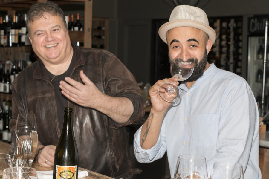 Chefs Bernard Ibarra and Adnen Marouani. Photo by Brad Jacobson