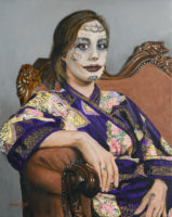 """""""Day of the Dead - Tima,"""" by Karen Yee. The model is local artist (and beauty) Tima Peck."""