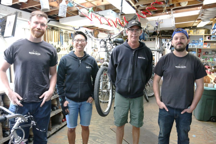 The crew at Hermosa Cyclery