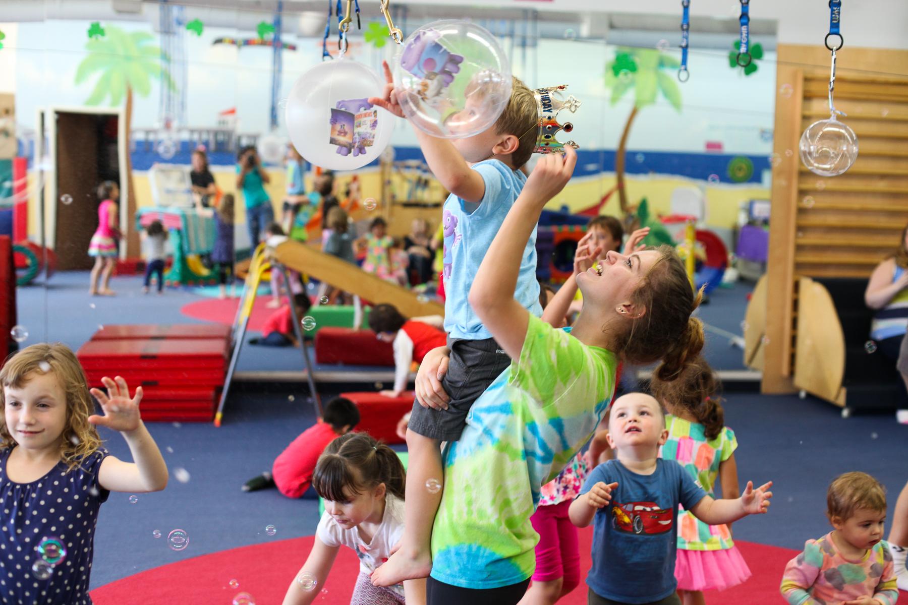 Best Kids Birthday Party Location 2016: My Gym