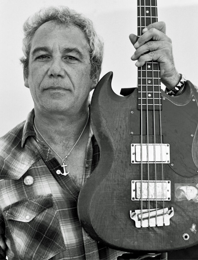 Mike Watt plays Sainte Rocke Friday night. Courtesy photo
