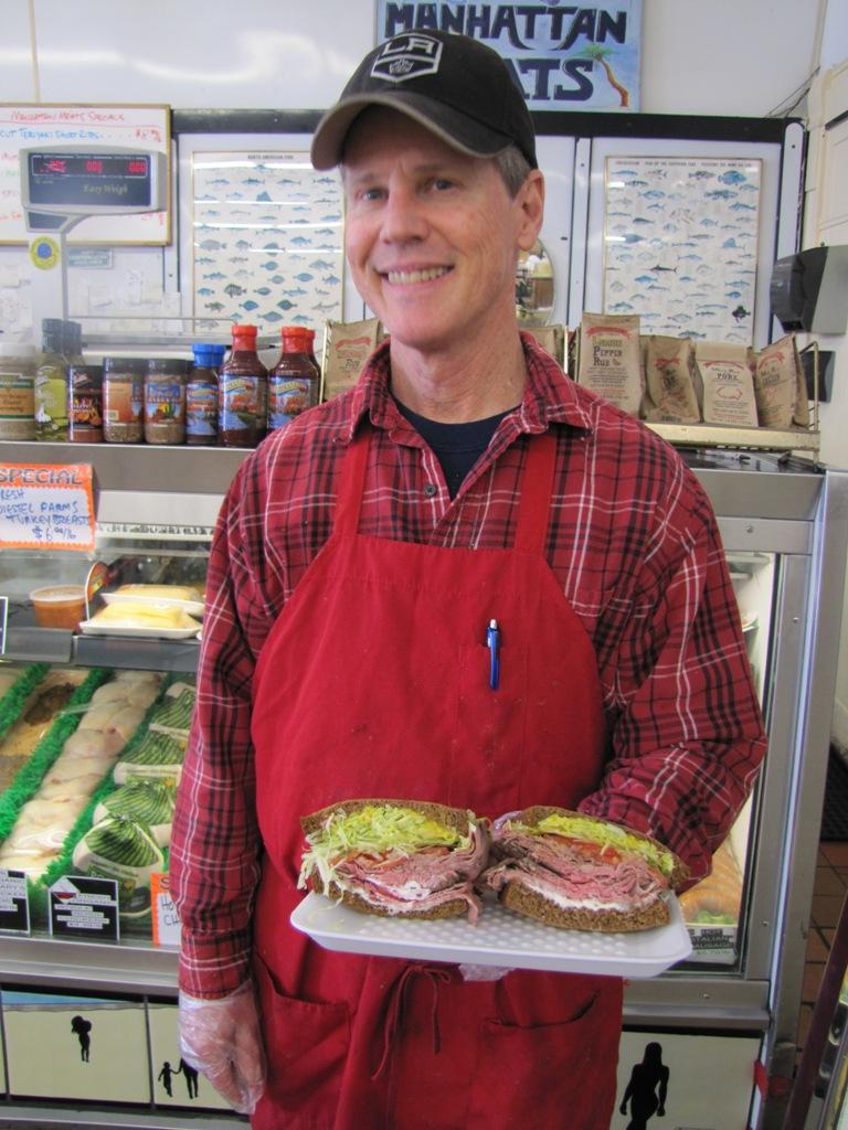 Best of the Beach 2016, Best Sandwich Shop: Manhattan Meats