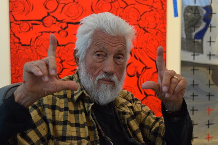 Ed Moses. Photo