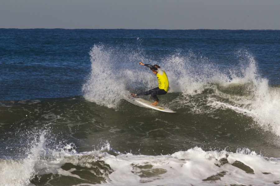 """South Bay Scholastic Surfing Association's Rookie of the Year, Parker Browning. """"The kid is smooth as silk, getting better at a very impressive rate and has the genetics to be a South Bay standout,"""" said SBSSA league Director, Dickie O'Reilly. Photo courtesy the Browning family"""
