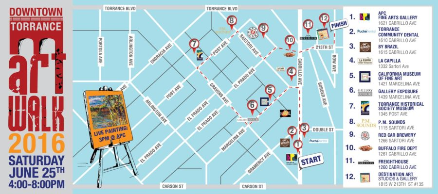 Art Walk map final with PM Sounds