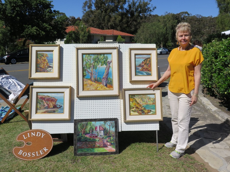 Spotlight on the Hill – Malaga Cove Art Fair  Art in the Plaza