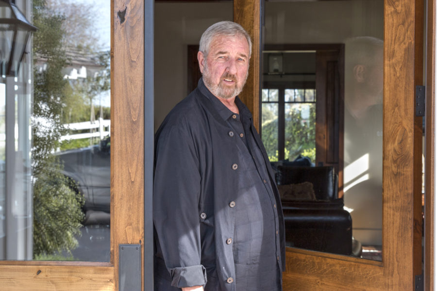 Former LA County District Attorney Steve Cooley at his home in Rolling Hills. Photos by Brad Jacobson