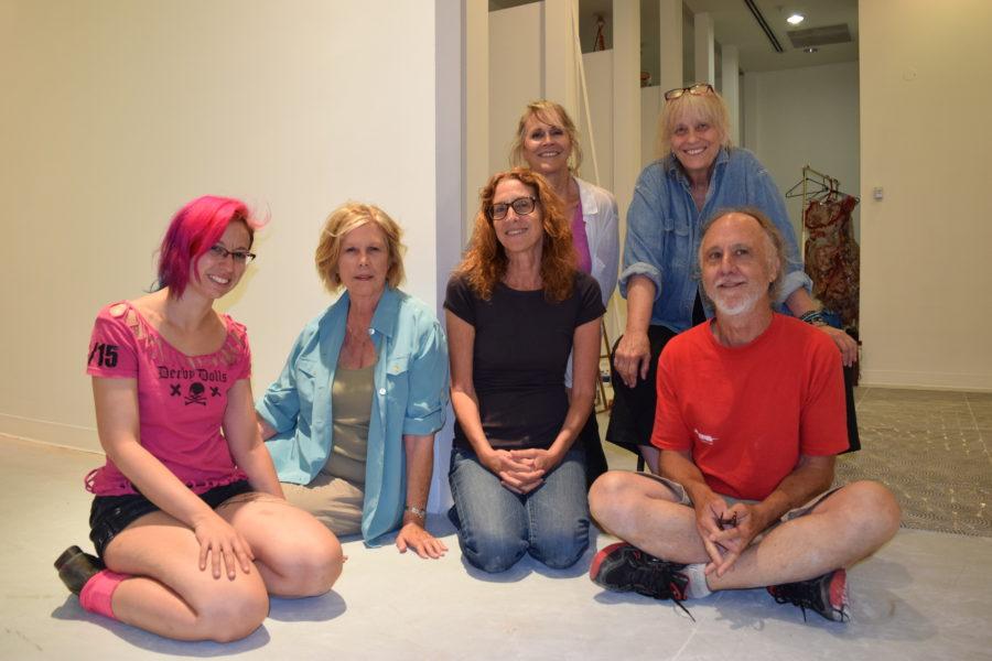 Front row, l-r, Katie Shanks, Sandra Dyer Liljenwall, Nina Zak Laddon, and Denis Richardson; back row: Cie Gumucio and Karrie Ross. Photo