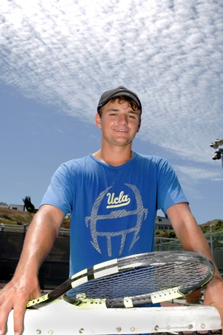 UCLA-bound Connor Hance led Peninsula High to its first boys tennis CIF championship since 2000. Photo by Ray Vidal