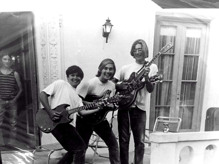 The late great Kelley Preech and John and Pat Dietz, circa early 1970s. Photo courtesy the Dietz Brothers