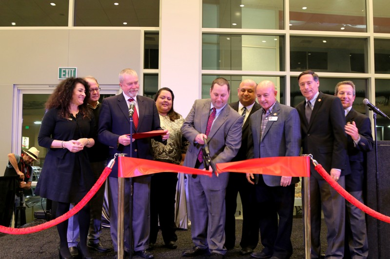 Manhattan Beach Toyota Owner Bradley Sperber (center) Is Joined In The  Ribbon Cutting Ceremony By Manhattan Chamber Of Commerce Representatives  Michelle ...