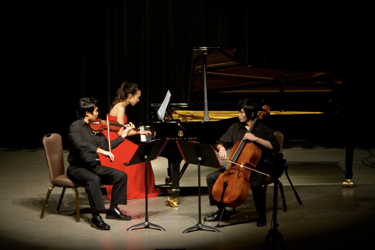The MC² Trio performs Beethoven with the Beach Cities Symphony