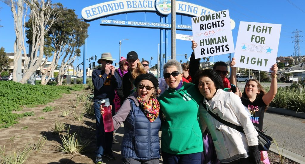 Redondo Beach Women's March mobilizes South Bay