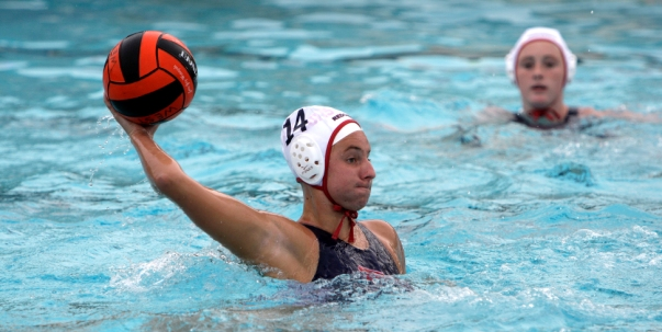 Girls making waves in race for Bay League water polo championship