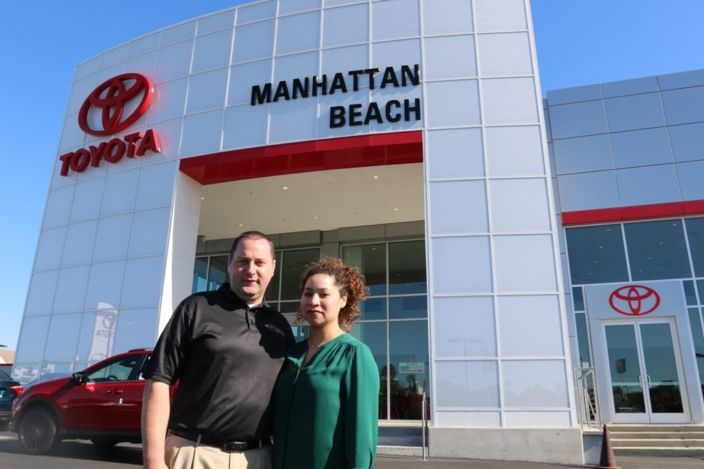 Manhattan Beach Toyota Owners Bradley And Andrisa Sperber Completed A $7.5  Million Remodel Last Year