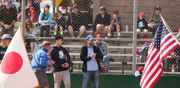 International teams arrive for youth baseball tournament