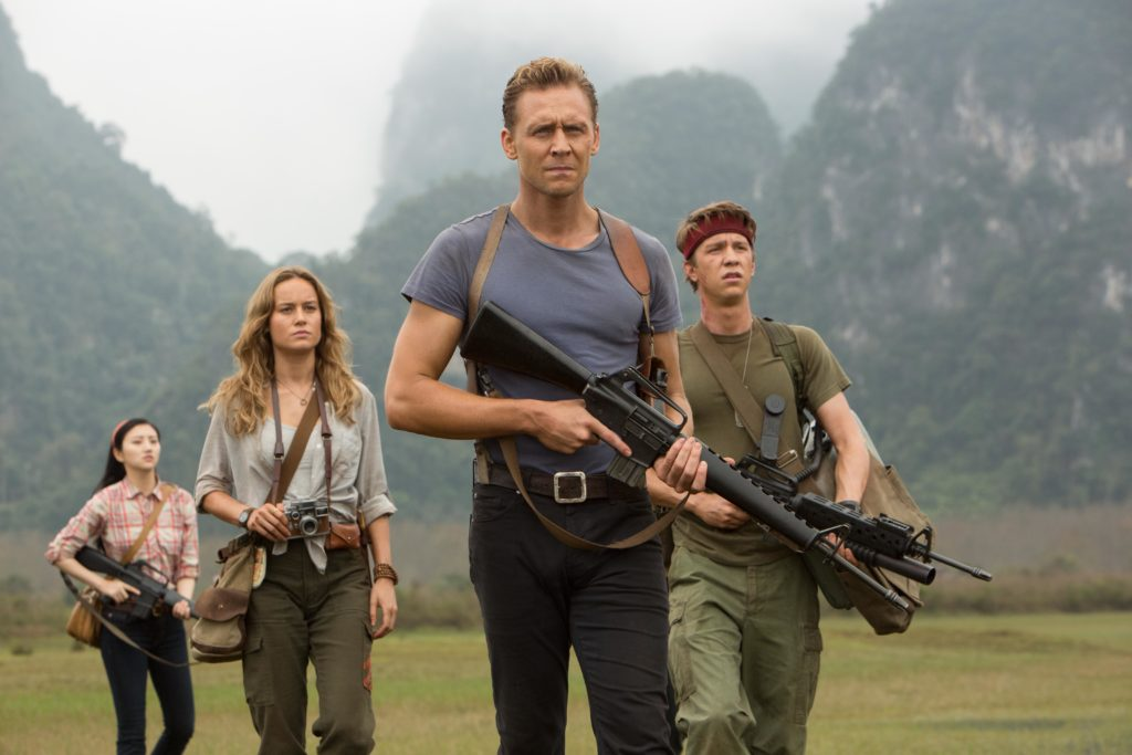 Kong Skull Island Finds Fun With Comic Cast Movie Review
